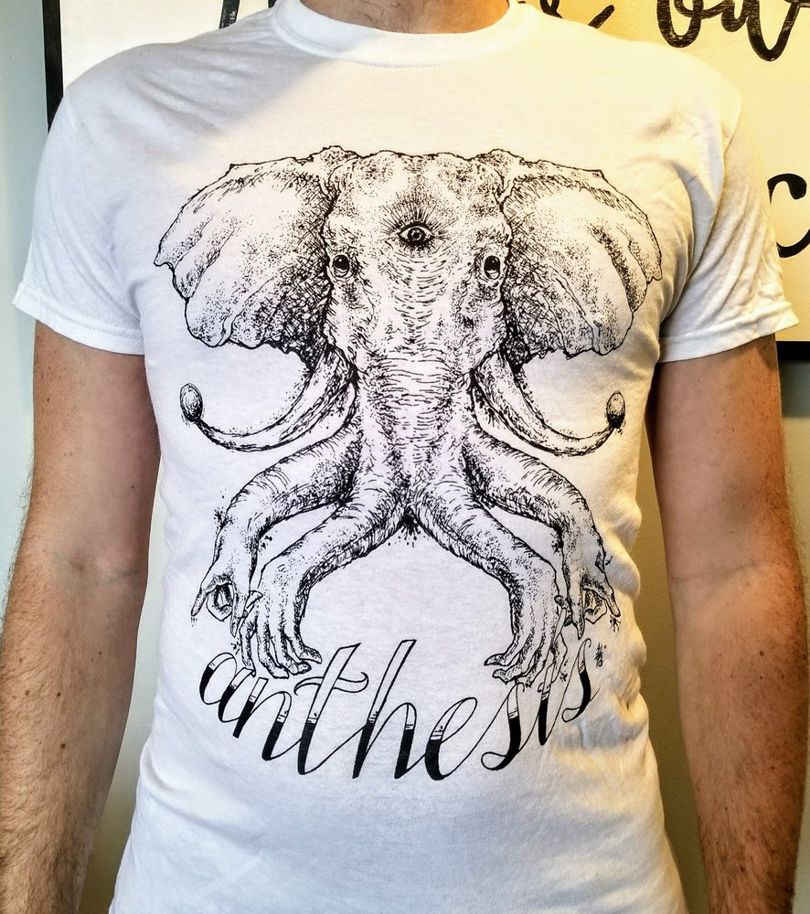 Image of Anthesis - Elephant T-shirt - White