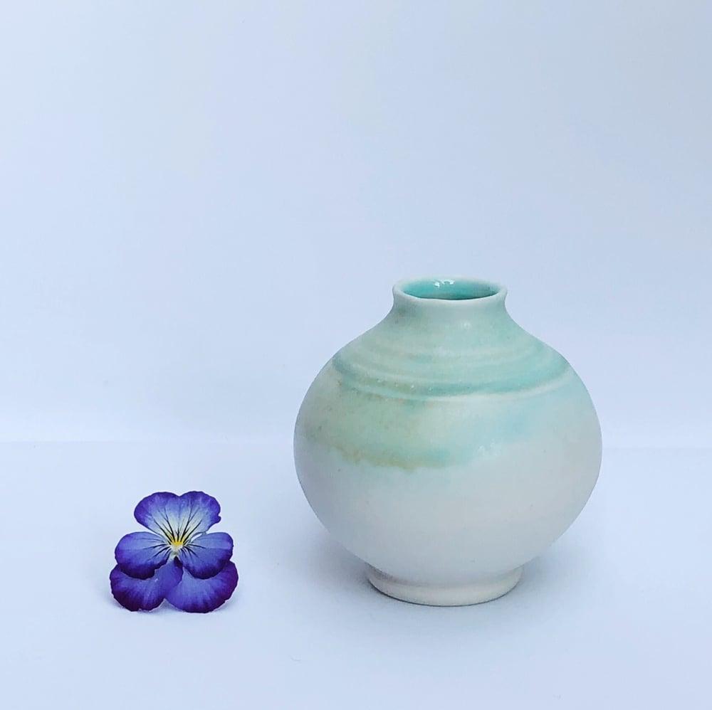 Image of Copper Patina Bud Vase