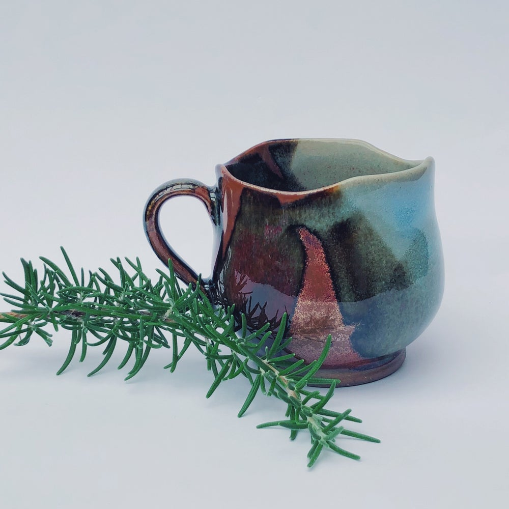 Image of Layered Glazes Tea Cup