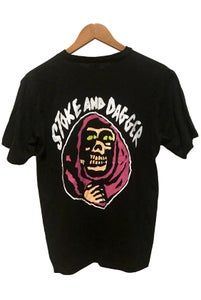 Image of STOKE & DAGGER TEE <br /> BLACK IN BLACK!