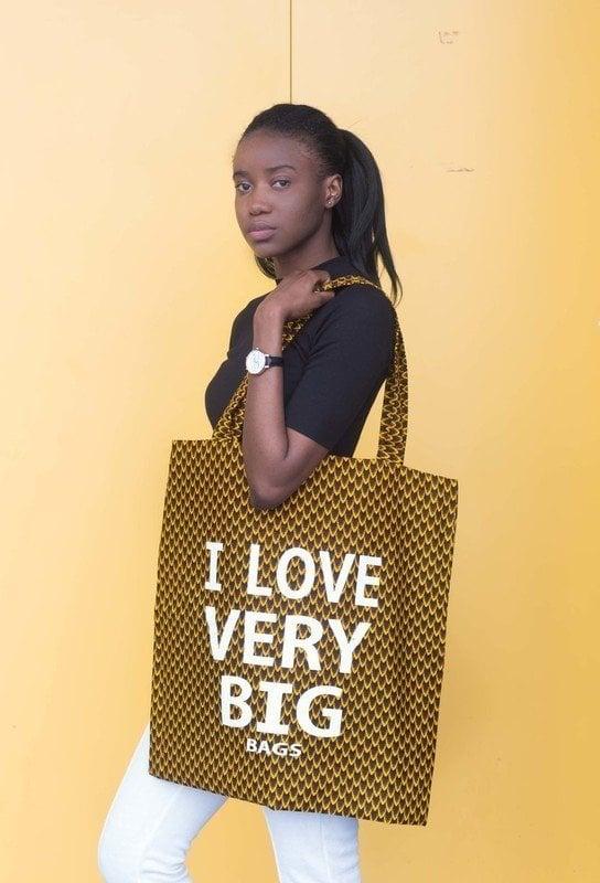 Image of Tote bag Ananas XXL 40% OFF