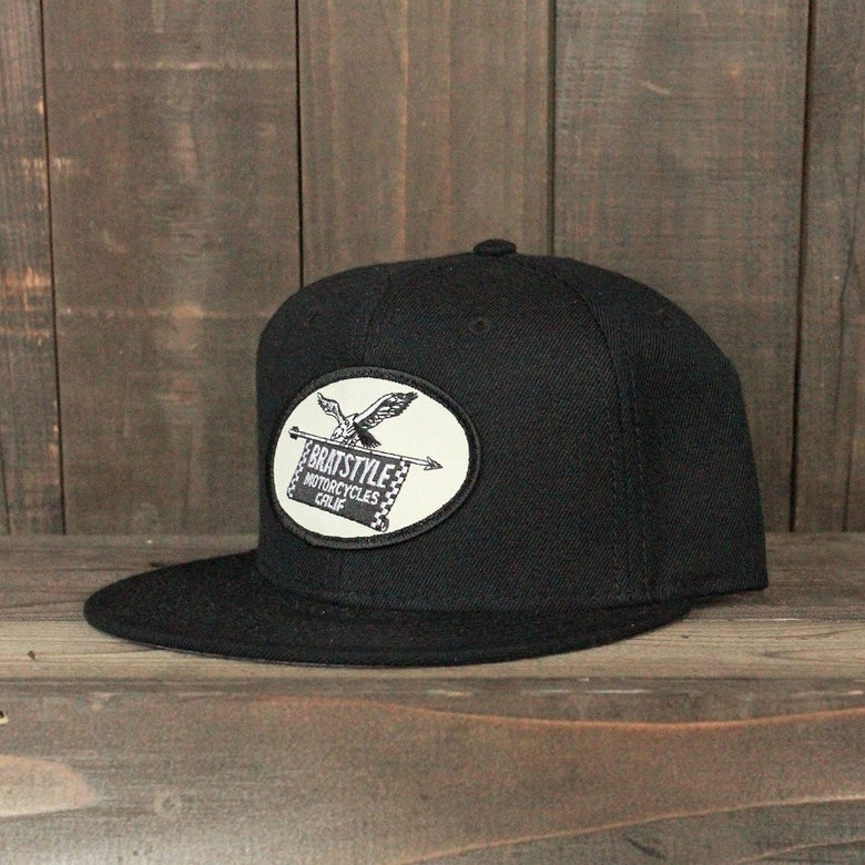 Image of BRAT STYLE wool snap back EAGLE