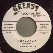 "Image of 7"" Jimmy Gordon : Buzzzz / The Carnations : Scorpion.  Rare split 7""."