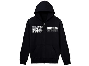Image of NJPW Full Zip-Up Hoodie