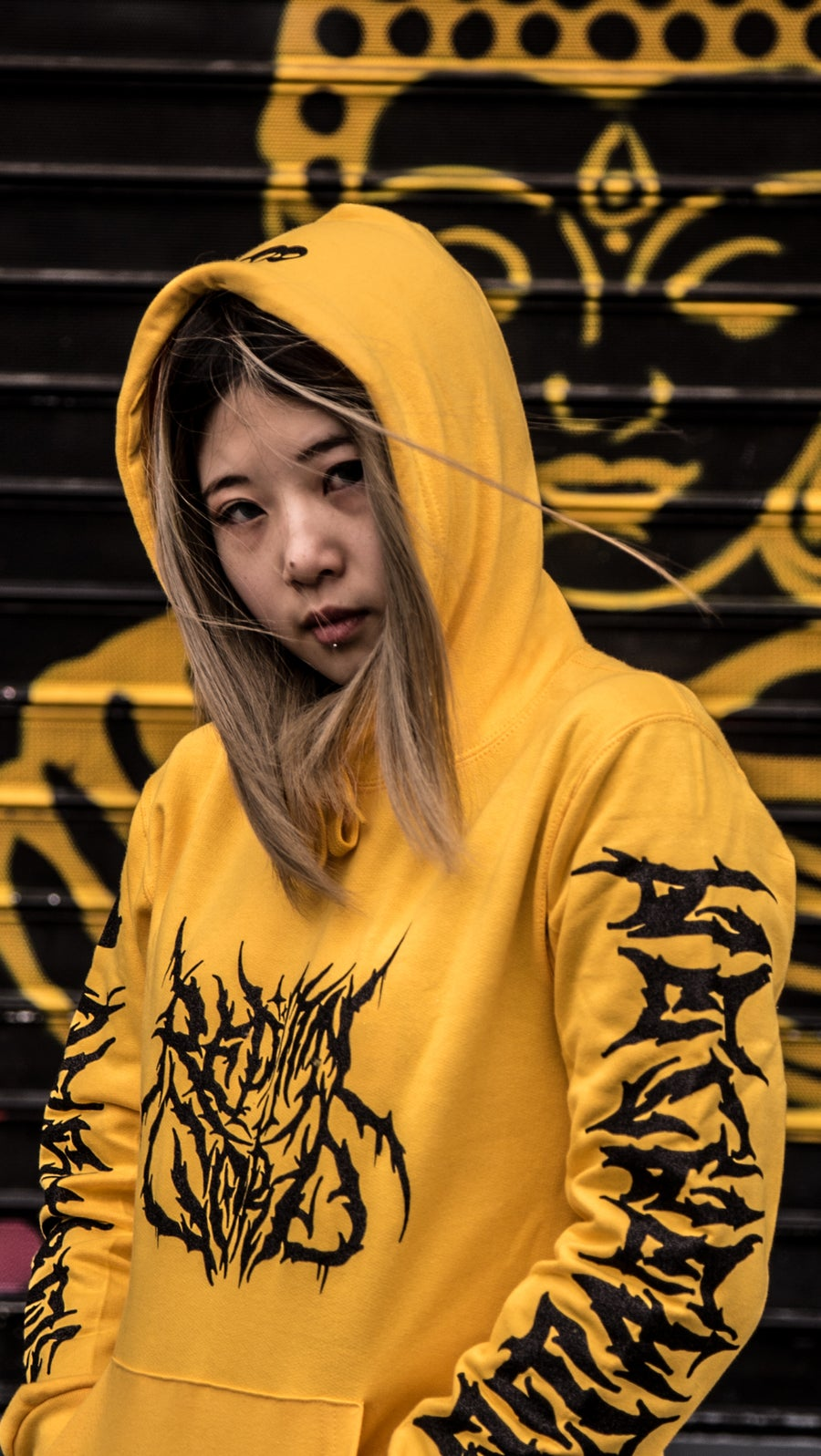 Image of Sudadera Reptil. Destroy to Recreate YELLOW