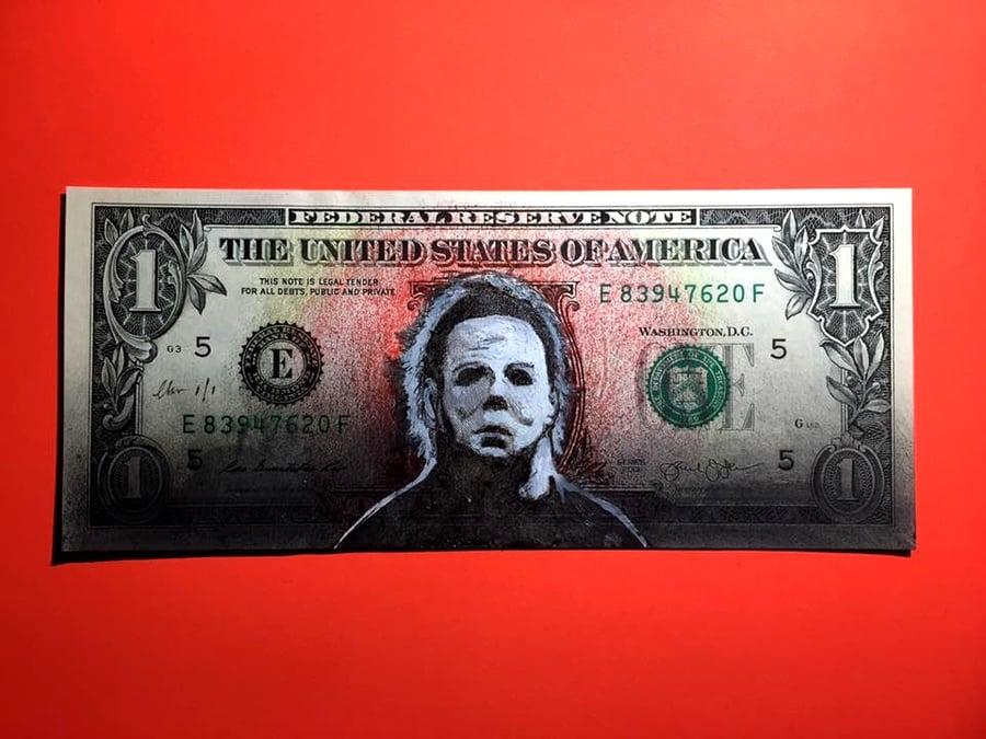 Image of The shape Money Art