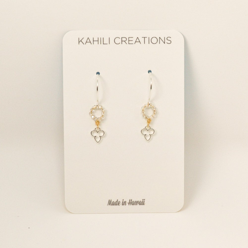 Image of Tiny yoga-inspired earrings
