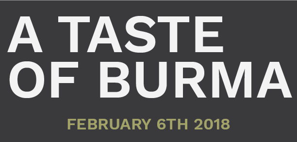 Image of Taste of Burma - February 6th Tuesday - Dinner Ticket - One Person