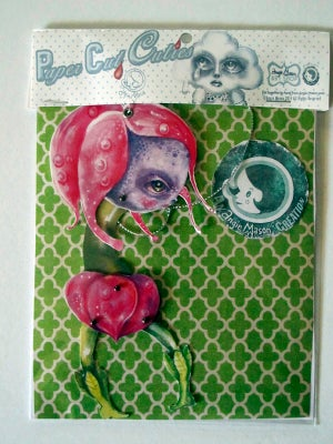 Image of BOTANICUTIES - SPECIMEN NO. 1 PAPER ART DOLL