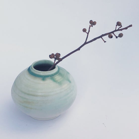Image of Patina Porcelain Blossom Vase