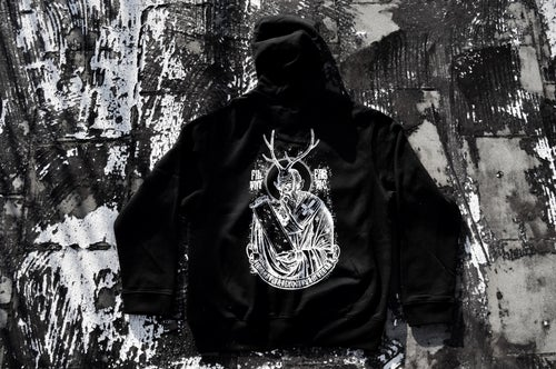 "Image of ""Deer Lord"" Black Hoodie"
