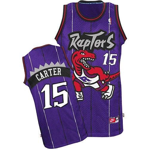 Image of Men's Vince Carter #15 Toronto Raptors Swingman Basketball Jersey