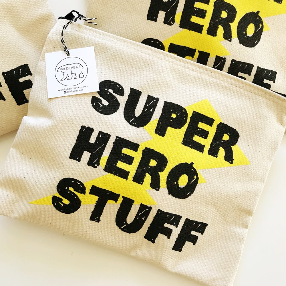 Image of SUPER HERO STUFF POUCH