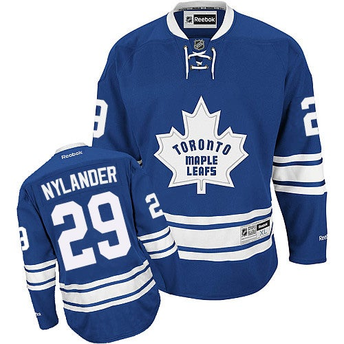 Image of Toronto Maple Leafs William Nylander Mens Toronto Maple Leafs #29 Royal Jersey