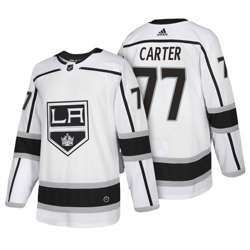 Image of Jeff Carter Los Angeles Kings Away Jersey White