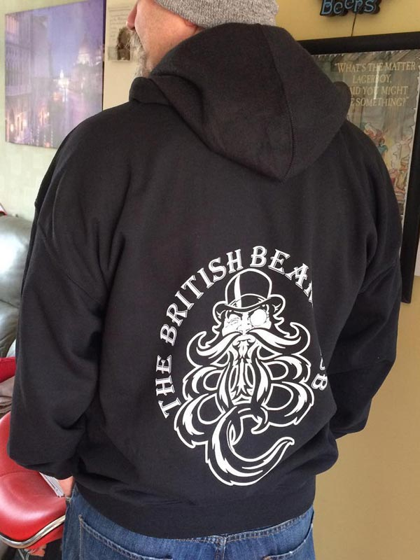 Image of The TBBClub Gildan/AWD Black Hoodie