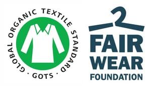 "Image of ""WORLDWIDE TEE"" - Organic cotton - White"