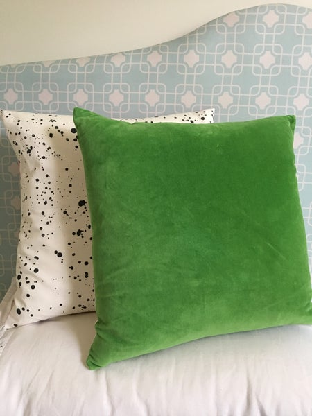 Image of Apple Velvet Cushion Cover