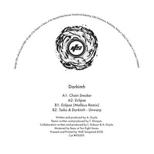 Image of IFS009: Darkimh - Chain Smoker / Eclipse / Eclipse (Malleus Remix) / Taiko & Darkimh - Unwarp