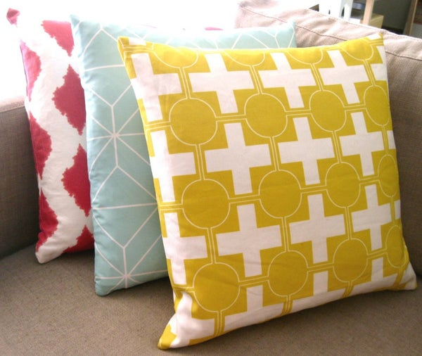 Image of Hollywood Crossing Yellow Cushion Cover