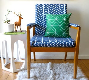 Image of Geometry Emerald Cushion Cover