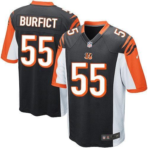 Image of Men's Vontaze Burfict Cincinnati Bengals Nike Game Jersey