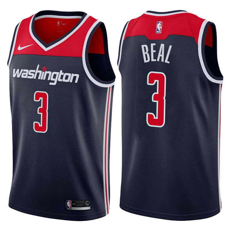 Image of Men's Bradley Beal Nike NBA Swingman Jersey Navy