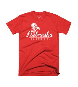Image of Nebraska The Good Life Tee