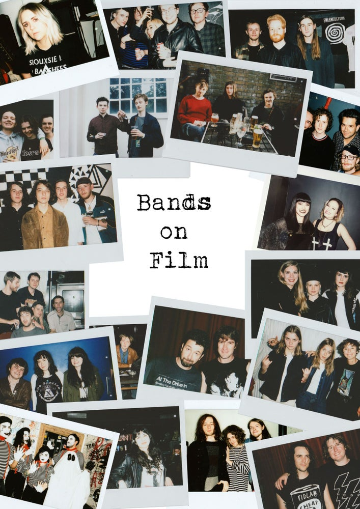 Image of Bands on Film Zine 1