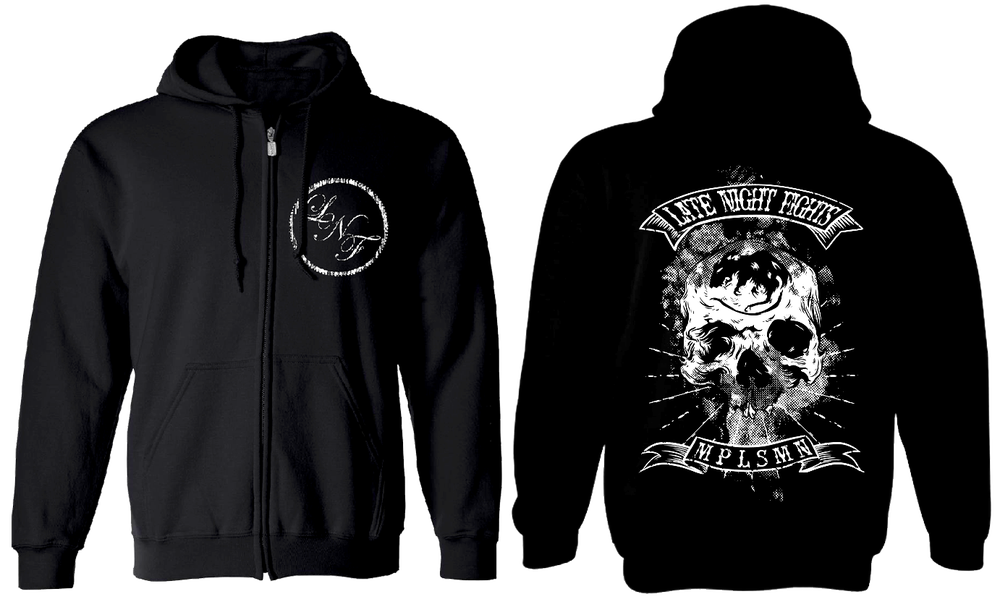 Image of Skull Zip-Up