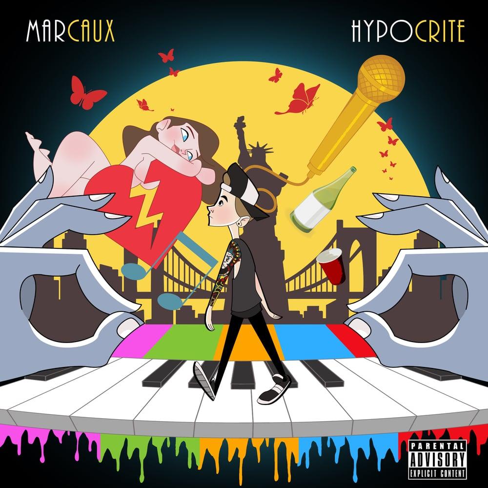 Image of Marcaux - 'Hypocrite' EP (CD)