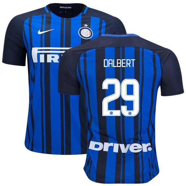 Image of Men's Nike Dalbert Henrique Inter Milan FC Jersey #29 17/18