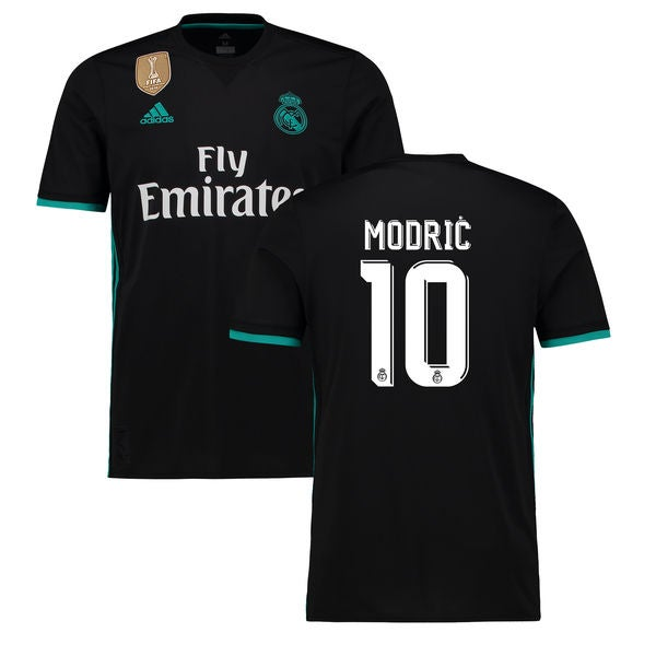 Image of Men's Luka MODRIC #10 Real Madrid Away Jersey 2017-2018 Soccer Jersey