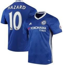 Image of Men's Adidas Chelsea Eden Hazard #10 Soccer Jersey Home 15/16