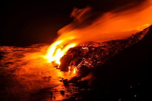 Image of Kilauea Lava Flow, Hawaii