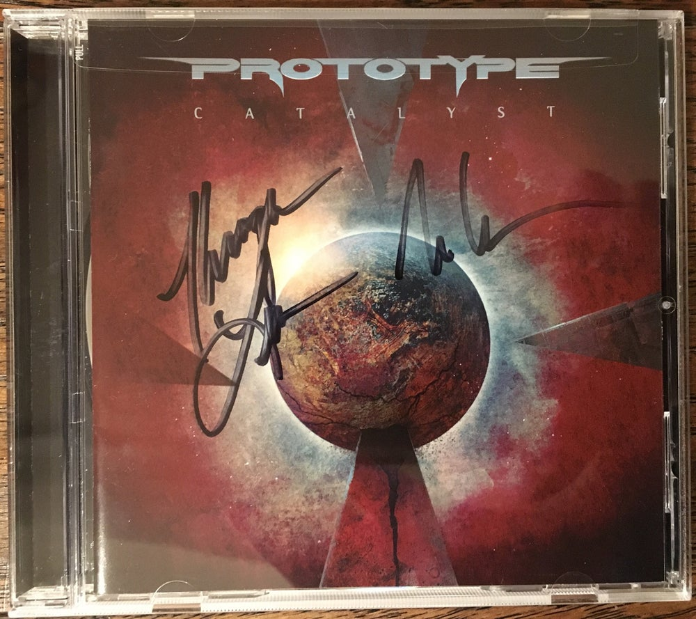 "Image of Prototype ""Catalyst"" Autographed CD + T-Shirt + Promo Photo + Mini Poster Bundle"