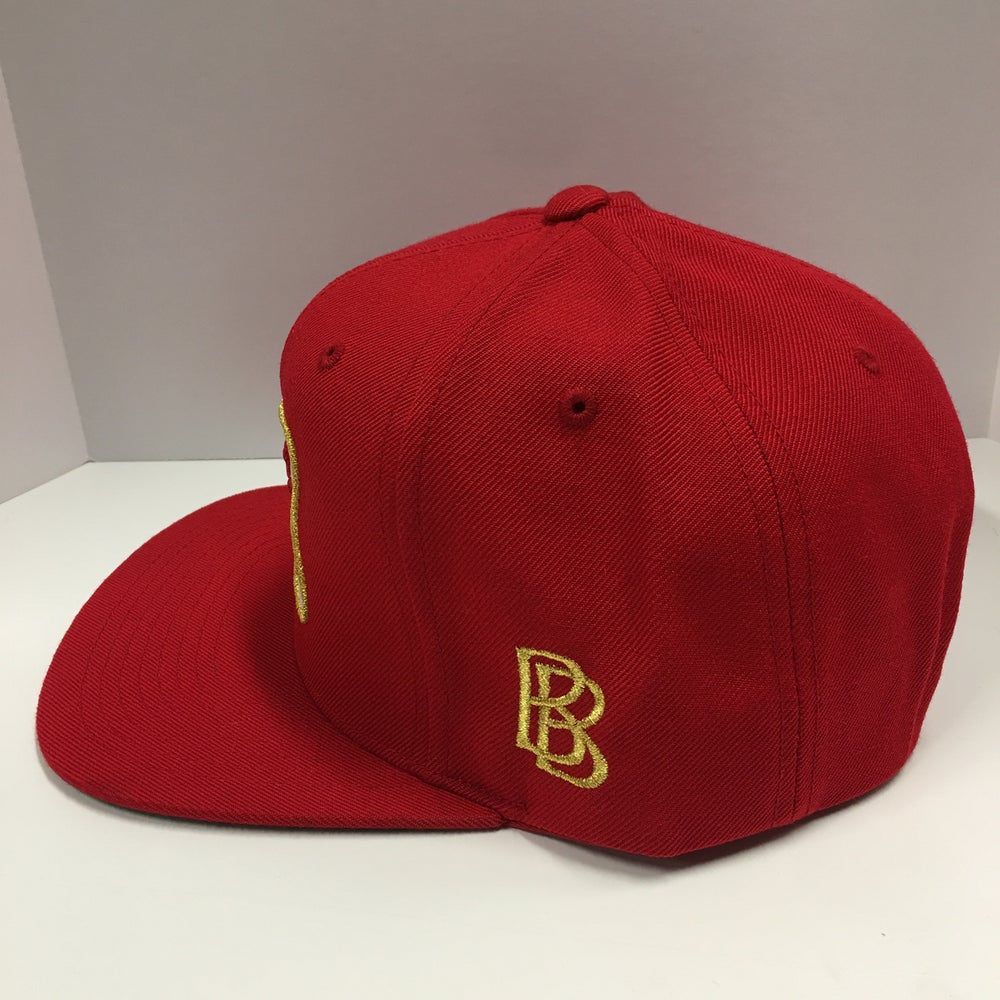 Image of Niner For Life SnapBack (Red)