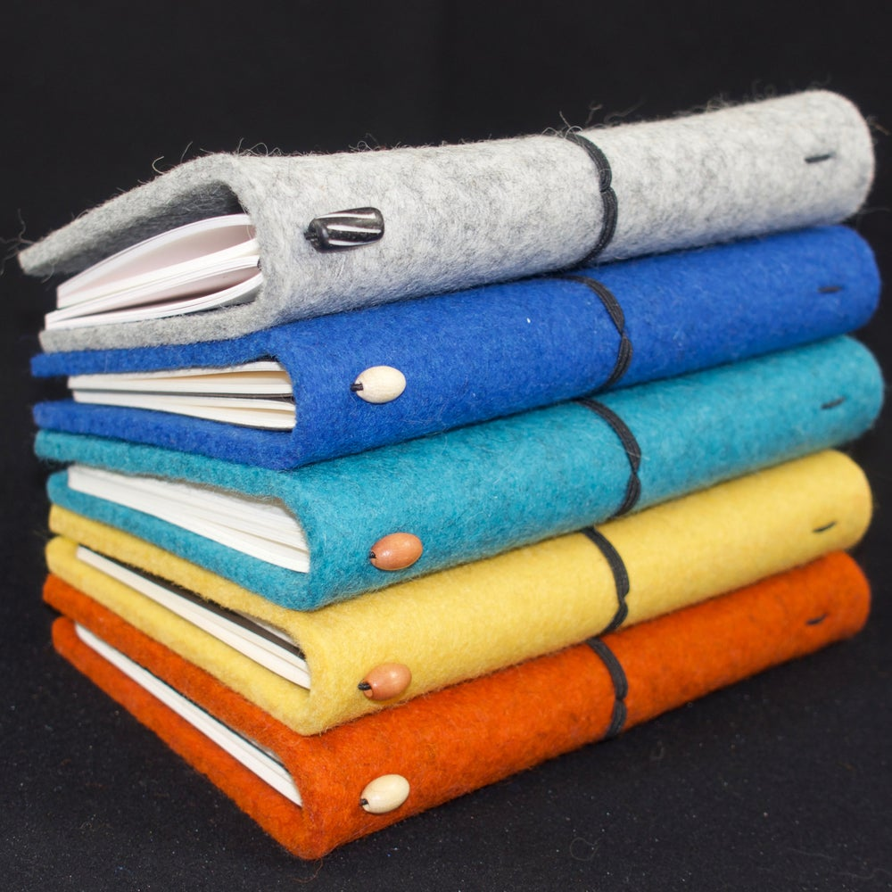 Image of Felt Travel Journals