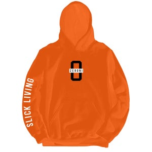 Image of SOLD OUT | Orange TEAM ZERONI Pullover Hoodie | Exclusive Release