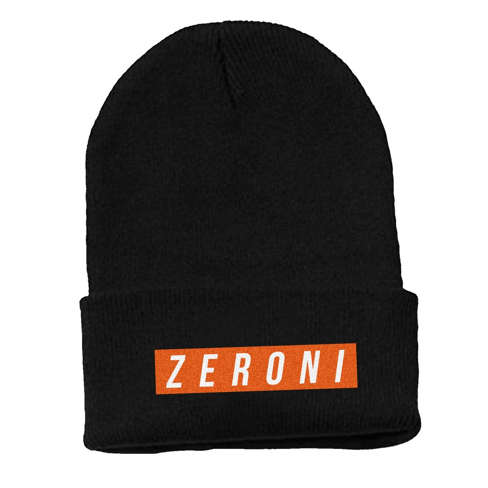 Image of Orange Team Zeroni Beanie | Exclusive Release