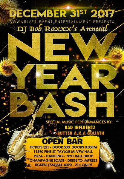 Image of New Years Bash 12/31/17