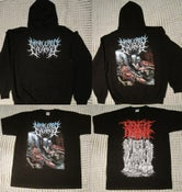 Image of T-shirts/PERVERSE DEPEND/DEVOURMENT/DEFEATED SANITY/GORGASM/VOMIT REMNANTS