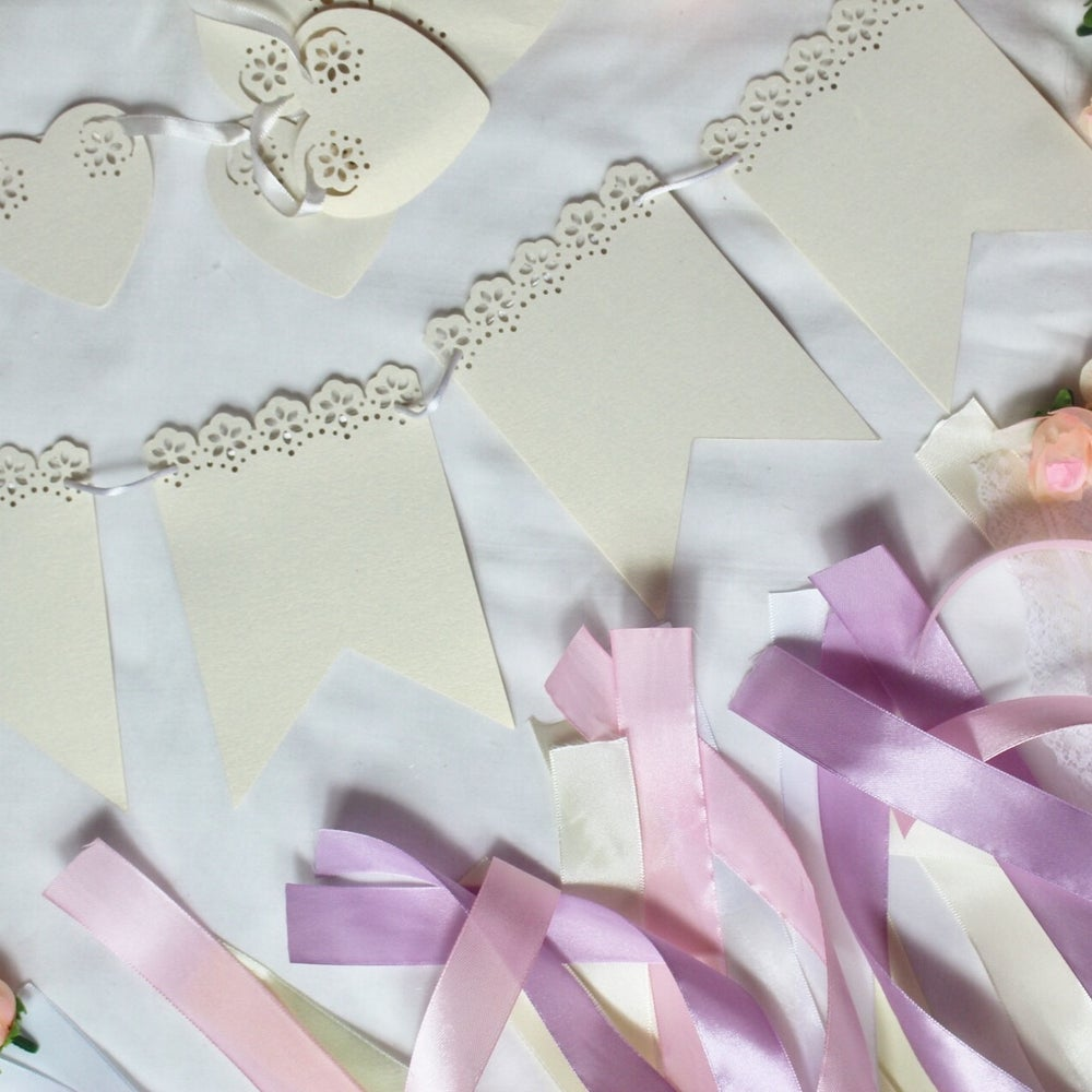 Image of Lace effect banner