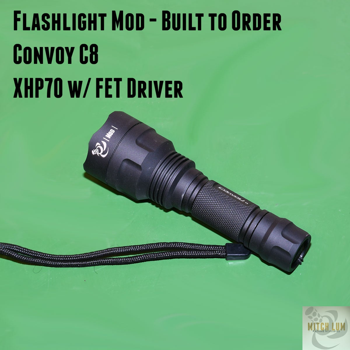 Flashlight Mod - Convoy C8
