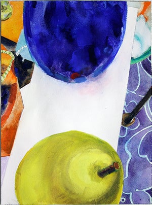 """Image of 9"""" x 12"""" watercolor paintings"""