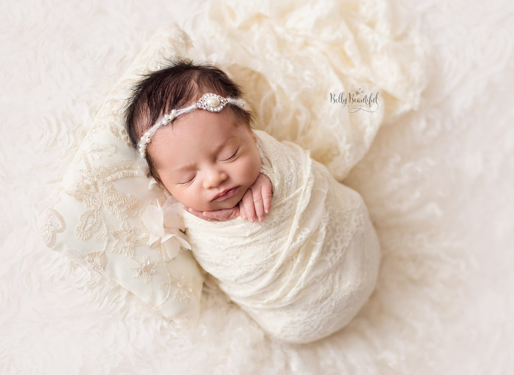 Image of Newborn Audrey Tieback