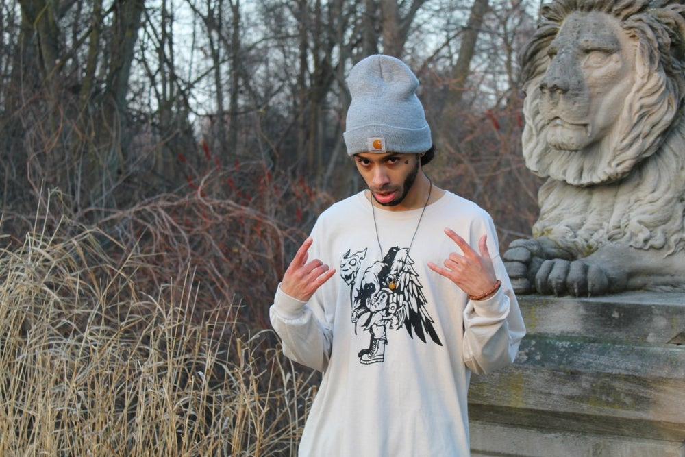 Image of TheBeamon Man On The Slopes Long Sleeve