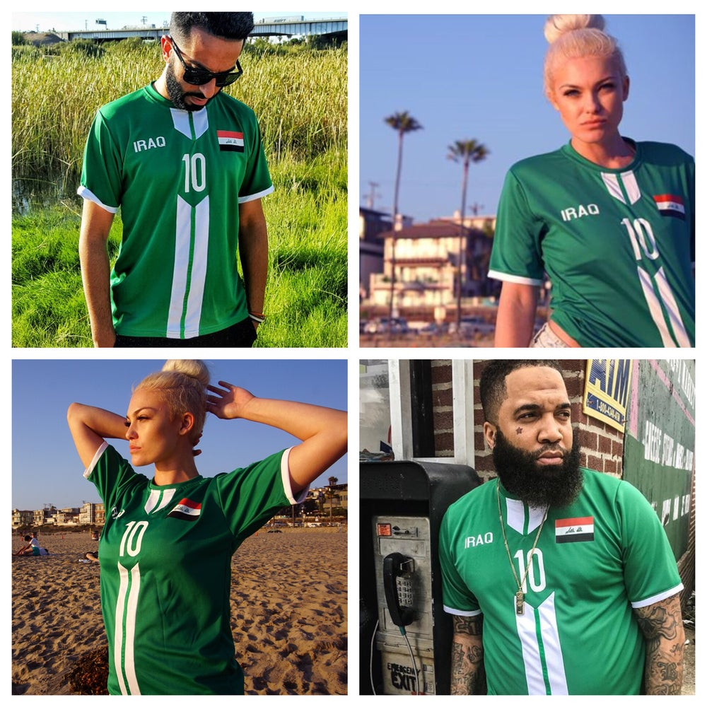Iraq Olympic Games Rio 2016 Soccer jersey  338c124d7