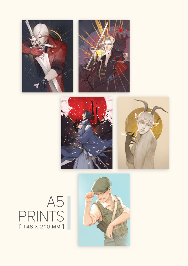 Image of A5 PRINTS