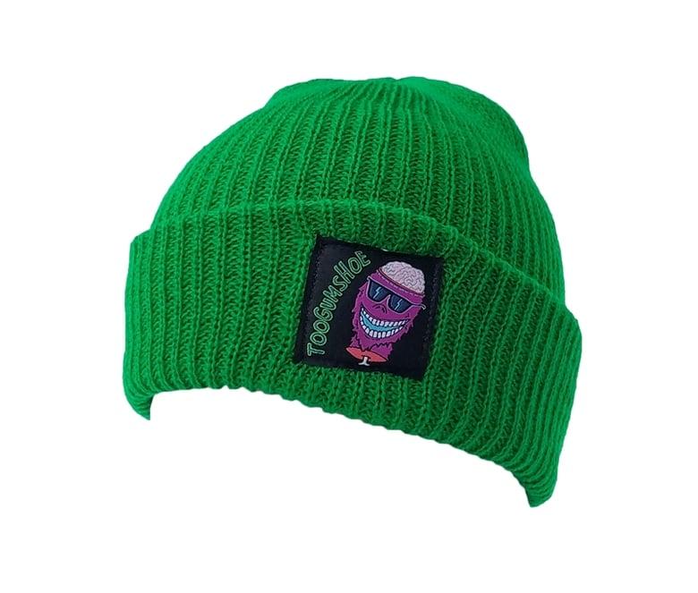 Image of Braindead Yeti Watch Cap (Green)